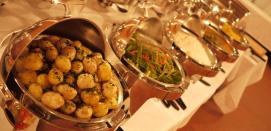 Medieval Feast great food