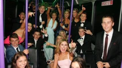 Party Bus School Ball