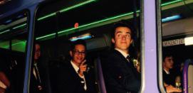 School Ball Party Bus Hire - Tiki Tour
