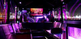 Party Bus Fundraisers Lighting